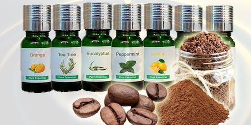 Making Coffee Scrub With Essential Oils - BF1 Essential Oils