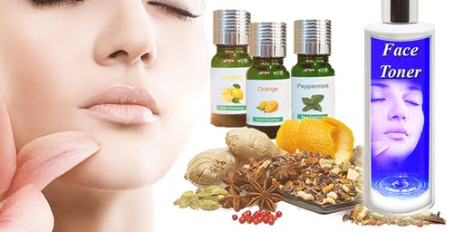 Making Face Toner With Essential Oil And Herbal Water - BF1