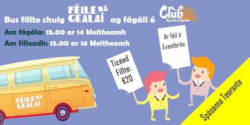 Bus chuig Féile na Gealaí le Club Chonradh na Gaei