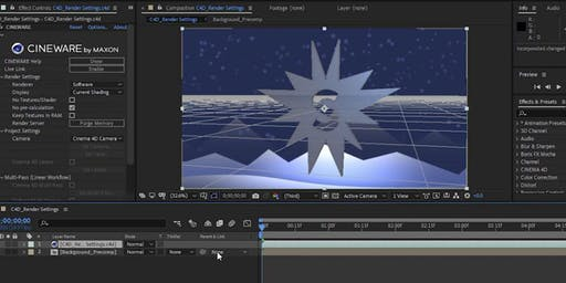 Grundkurs After Effects und 3D