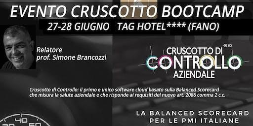 BOOTCAMP CRUSCOTTO DI CONTROLLO, Fano, 27-28 giugno