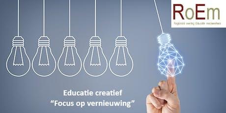 Educatie Creatief Landelijke studiedag RoEm 2019 tickets