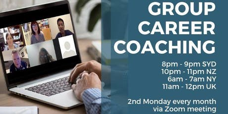 Career Confidence with Jane Jackson - Group Career Coaching Online tickets