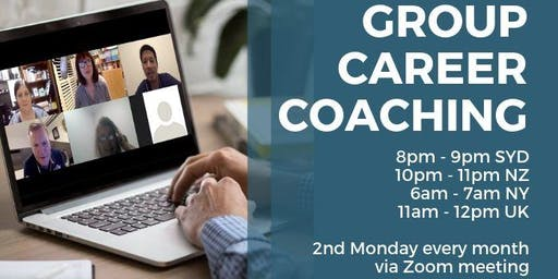 Career Confidence with Jane Jackson - Group Career Coaching Online