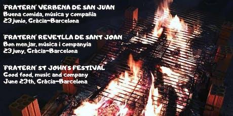 Gràcia: Verbena de San Juan - Revetlla de Sant Joan - St John's festival entradas