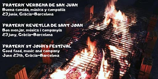 Gràcia: Verbena de San Juan - Revetlla de Sant Joan - St John's festival
