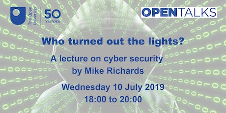Who turned out the lights? A cyber security lecture tickets