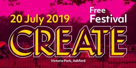 Create Festival 2019 tickets