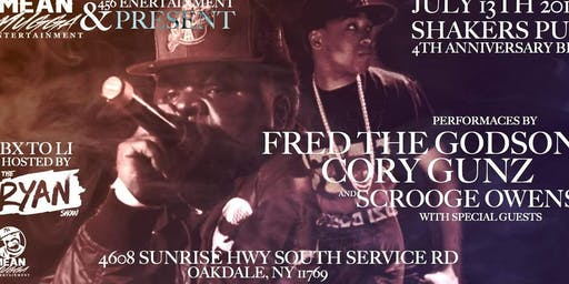 Fred The Godson,Cory Gunz,Royal Flush,Scrooge Owens live in concert