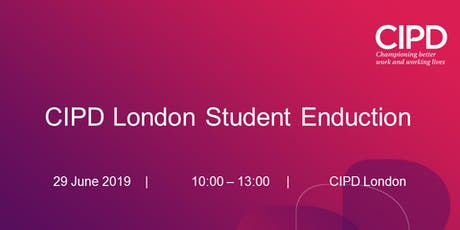 CIPD London Student Enduction tickets