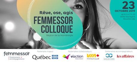 Colloque Femmessor | Région de la Montérégie  billets
