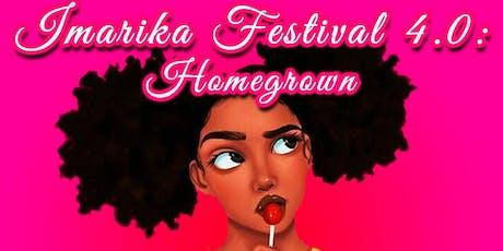 Imarika Festival 4.0 : Homegrown tickets