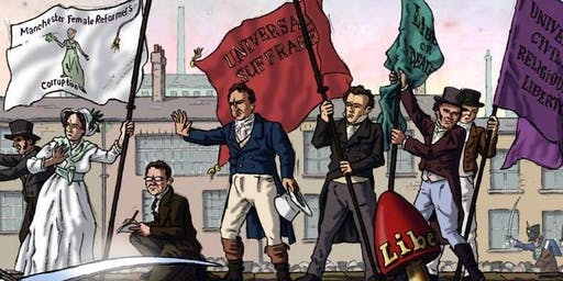 Peterloo talk - Polyp and Eva Schlunke; Peterloo: Witnesses to a Massacre
