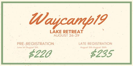 WA DISTRICT SENIOR CAMP 2019 tickets