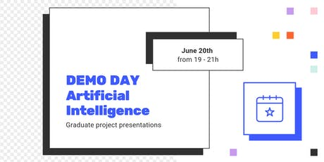 DEMO DAY: Artificial Intelligence Program entradas