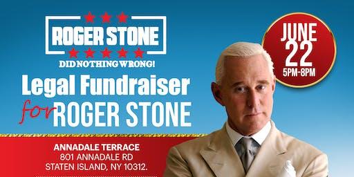 Roger Stone Legal Defense Fundraiser - Staten Island