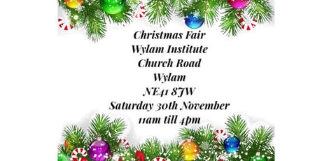 Wylam Institute Christmas Fair tickets