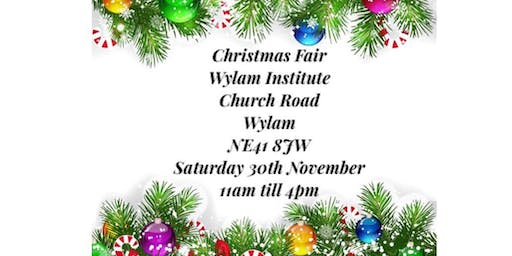 Wylam Institute Christmas Fair
