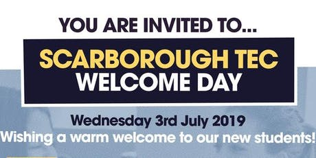 Welcome Day 2019 - Scarborough TEC tickets