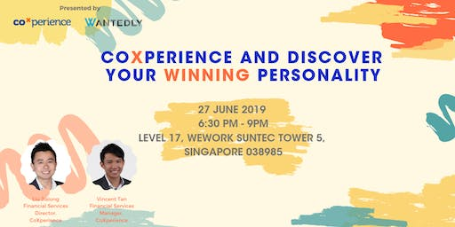 CoXperience and Discover Your Winning Personality