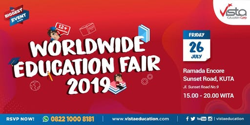 Worldwide Education Fair 2019 Denpasar - Ramada Bali Sunset Road