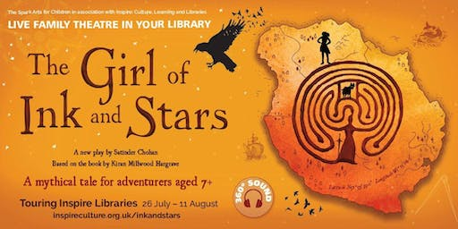 The Girl of Ink and Stars - Kirkby in Ashfield Library, 3pm