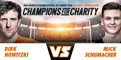 Champions for Charity 2019 Tickets