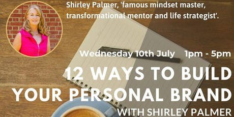 12 ways to build your personal brand  tickets