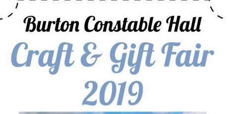 Craft & Gift Fair - Burton Constable tickets