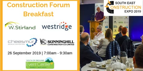 Construction Forum Breakfast tickets