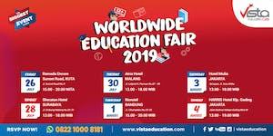 World Wide Education Fair 2019 - Bali, Surabaya,...