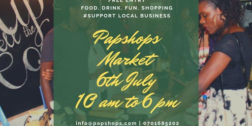 Papshops Pop-up Market