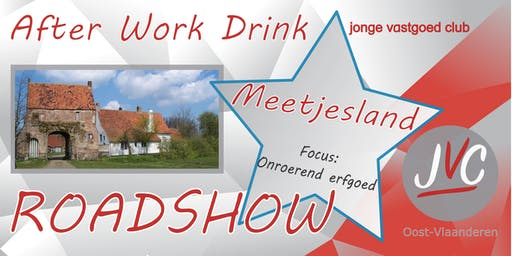 Roadshow After Work thema: Onroerend Erfgoed
