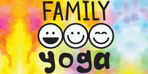 Family Yoga Session: Laugh. Play. Meditate :-)
