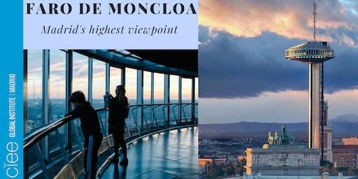 Madrid from the top: Faro de Moncloa