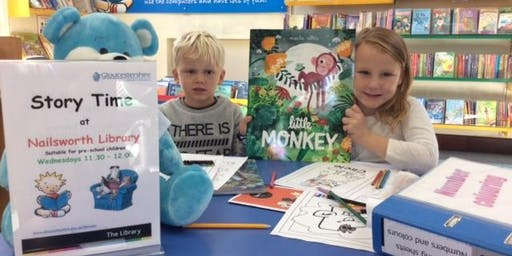 Nailsworth Library- Storytime