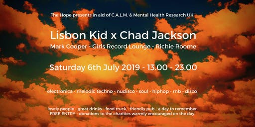 Lisbon Kid x Chad Jackson - C.A.L.M. & Mental Health Research UK Fundraiser
