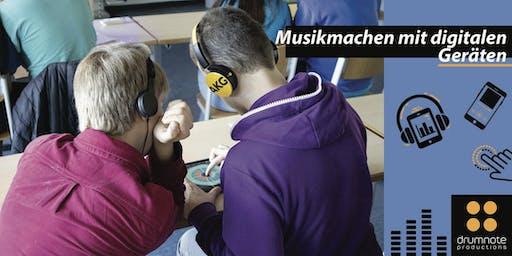 Workshop: Musikmachen mit digitalen mobilen Geräten