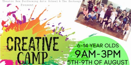 Creative Camp tickets
