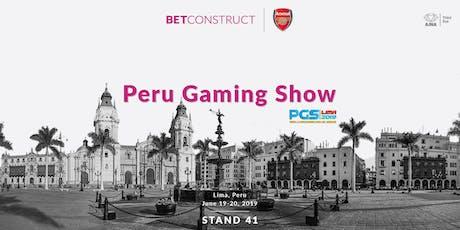 BetConstruct at Peru Gaming Show entradas