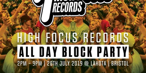 High Focus Records - Summer Block Party