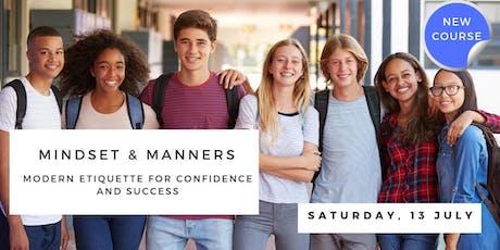 Mindset & Manners: Teenage Etiquette Workshop tickets