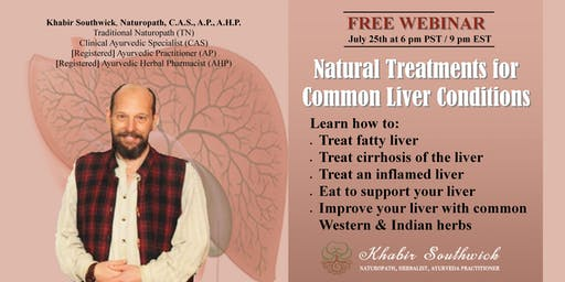 Webinar:  Natural Treatments for Common Liver Conditions
