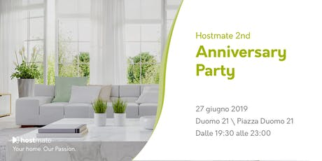 Hostmate: 2nd Anniversary Party biglietti