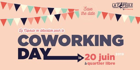 Coworking Day - La Capsule billets