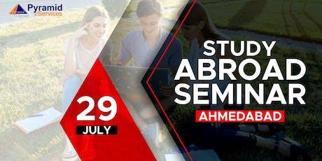 Study Abroad Seminar 2019 - Ahmedabad tickets