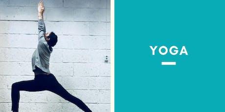 Yoga avec Jess le Lundi Soir tickets