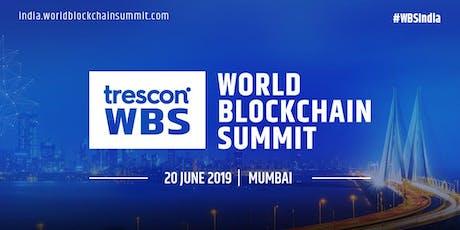 World Blockchain Summit-India 2019 tickets