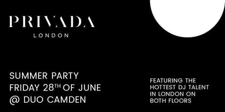 PRIVADA SUMMER PARTY tickets