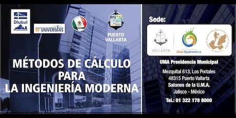 Métodos de cálculo para la ingeniería moderna - Reunión técnica presencial en su ciudad - Puerto Vallarta entradas